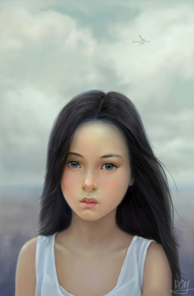 640x975_19557_Young_girl_2d_little_girl_portrait_picture_image_digital_art